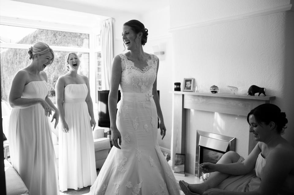 Documentary wedding photographer Cheshire, northwest, UK