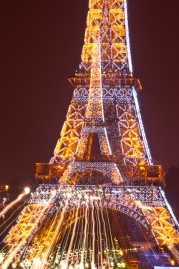 The Eiffel Tower (Zoom Burst)