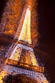 The Eiffel Tower (zoom burst 2)