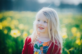 Child spring photoshoot sefton park Liverpool