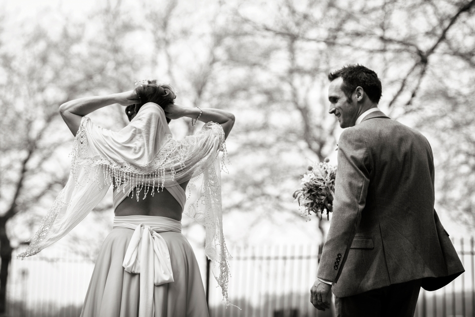 Wedding photograph Sefton Park - documentary wedding photographer Cheshire