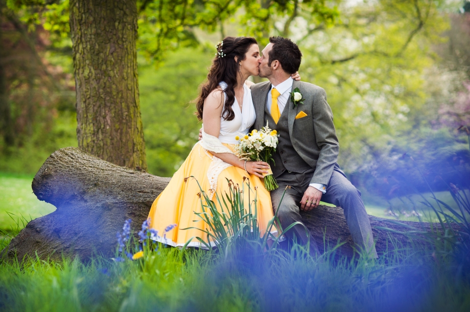 Wedding photograph Sefton Park - alternative wedding photographer Cheshire