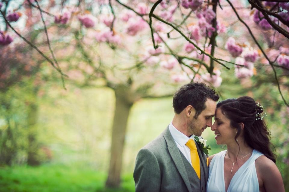 Wedding photograph Sefton Park - alternative wedding photographer Cheshire