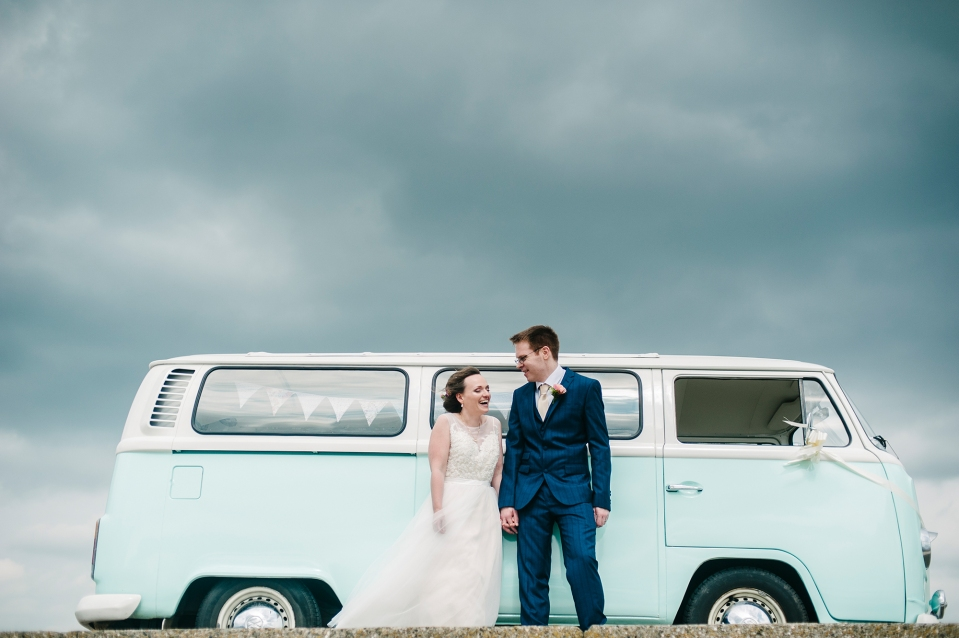 CHET wedding photography crosby beach campervan