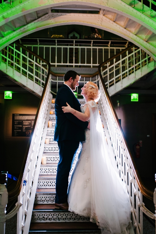 Manchester museum wedding photography