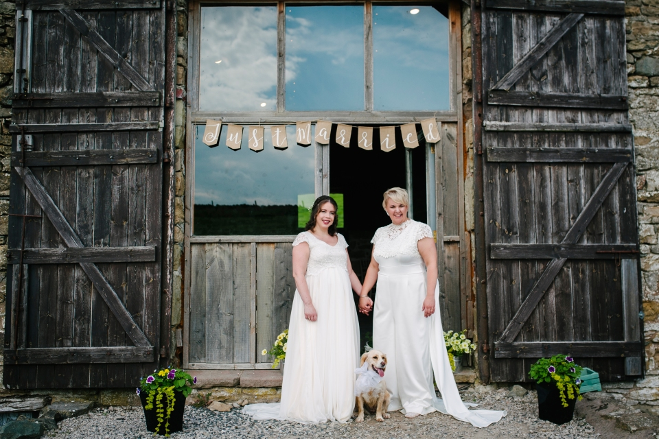 Knipe hall wedding photography - alternative wedding photographer penrith cumbria