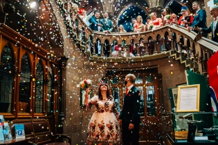 alternative wedding photography cheshire Chester town hall weddings