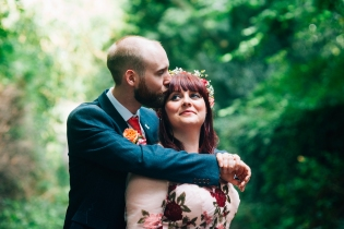 Eccleston village hall wedding photography. Alternative wedding photographer cheshire