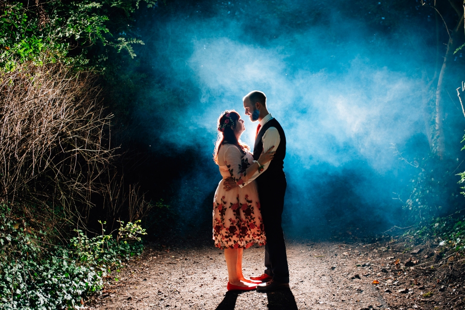 Eccleston village hall wedding photography. alternative wedding photographer cheshire - smoke wedding photography