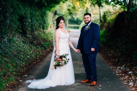 larkspur lodge alternative wedding photography cheshire