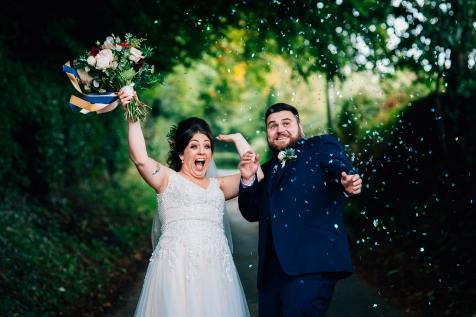 Larkspur lodge wedding photography. Creative wedding photographer cheshire